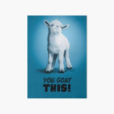 Vous chèvre ça Impression rigide
