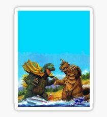 Horny Monster Fight Sticker