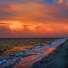 sunrise on the beach by Luca Renoldi