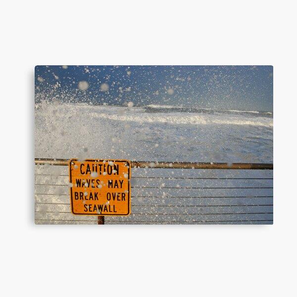 Pacifica Seawall Canvas Print
