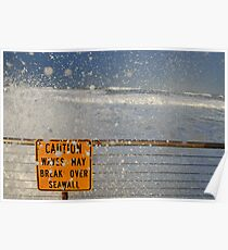 Pacifica Seawall Poster