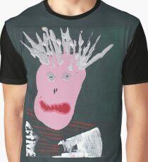 Punk - Martin Boisvert - Faces à flaques T-shirt graphique