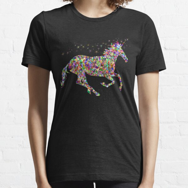 Rainbow Glitter Unicorn Shirt  Essential T-Shirt