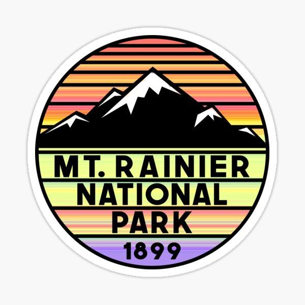 Mount Rainier National Park Washington Sticker