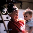 Great Grandmother Holds The Future by velveteagle