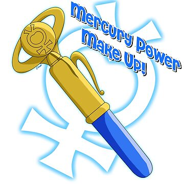 Mercury Power Make Up! pen by corzamoon