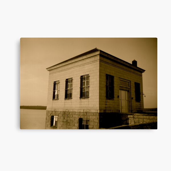 Scituate Reservoir Water Pumping Station #1 Canvas Print