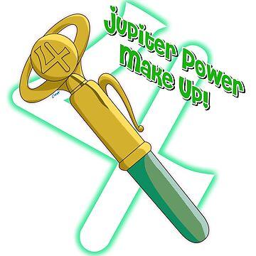 Jupiter Power Make Up! Pen by corzamoon