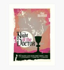 The Night of the Doctor Art Print