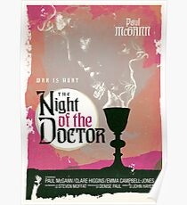 The Night of the Doctor Poster