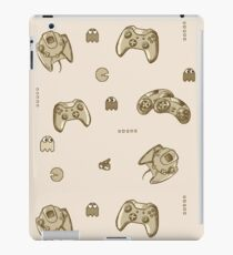 Video Games Addiction, Sepia Style iPad Case/Skin