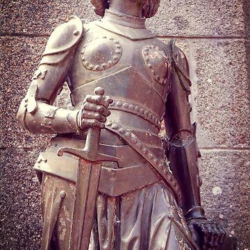 Joan of Arc, Église Saint-Pierre by zuluspice