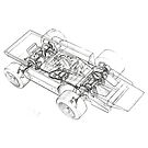 Cosworth F1 4X4 by GuilleAlfonsin
