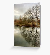 Mitcham Common, London Greeting Card