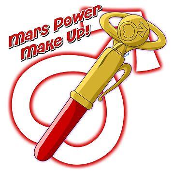 Mars Power Make Up! Pen by corzamoon