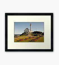 Cape Forchu Nova Scotia Canada Framed Print