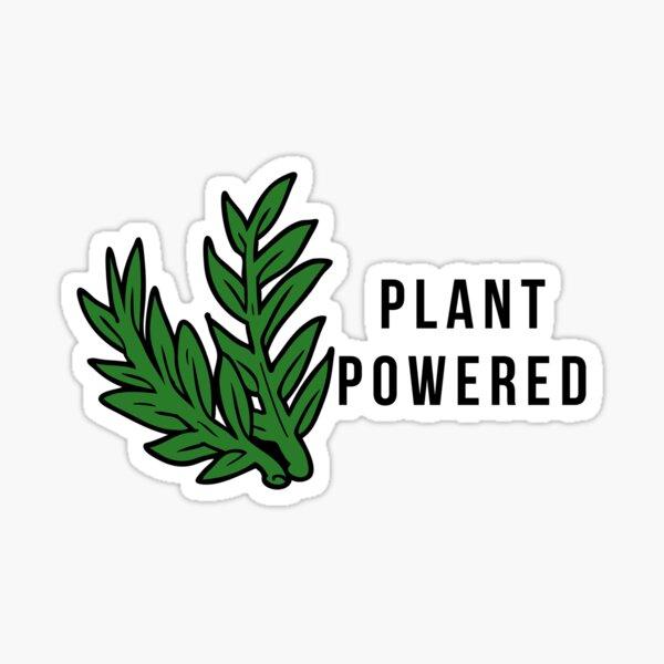 Plant Powered! Sticker
