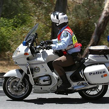 Police Escort - Tour Down Under by JennyB