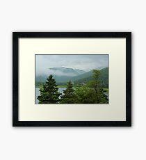 Nova Scotia mist Framed Print