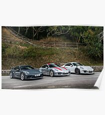 911 991.2 GT3, 991 911R, GT3RS Poster