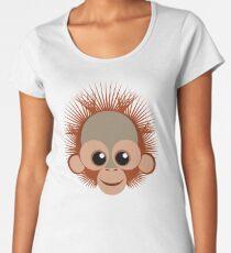 Orangután bebé Women's Premium T-Shirt