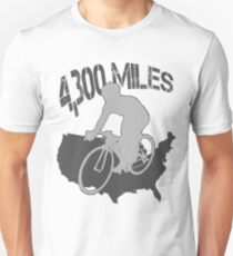 TransAmerica Bicycle Trail Unisex T-Shirt