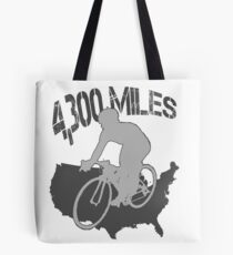 TransAmerica Bicycle Trail Tote Bag