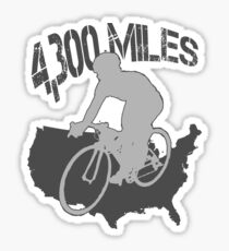 TransAmerica Bicycle Trail Sticker