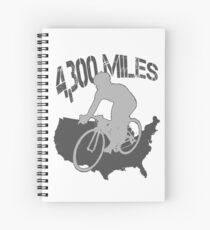 TransAmerica Bicycle Trail Spiral Notebook