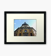 Hedvig Eleonora Kyrka: Stockholm Church Framed Print