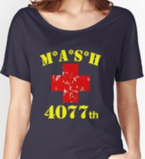 MASH 4077th Collection Women's Relaxed Fit T-Shirt