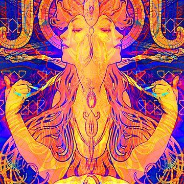 Alphonse Mucha Remixed 01 by chilangopride