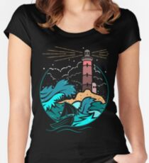 I'll Guide You Home... Women's Fitted Scoop T-Shirt