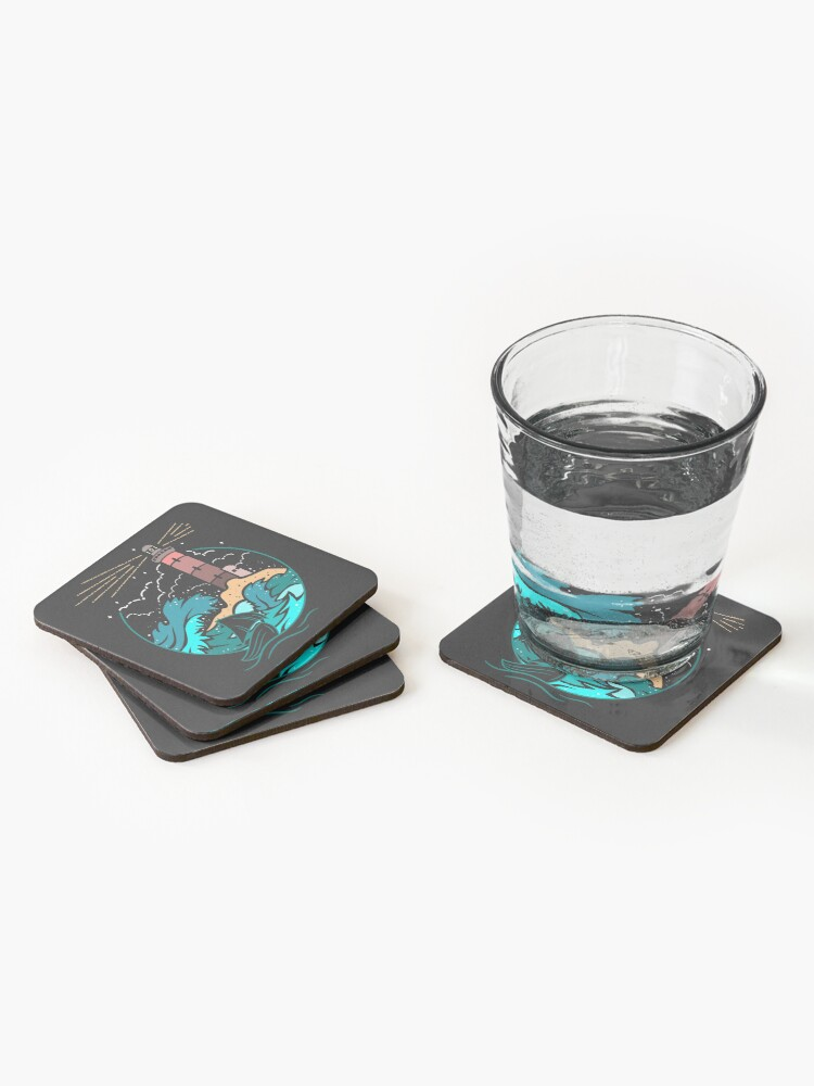 Alternate view of I'll Guide You Home... Coasters (Set of 4)