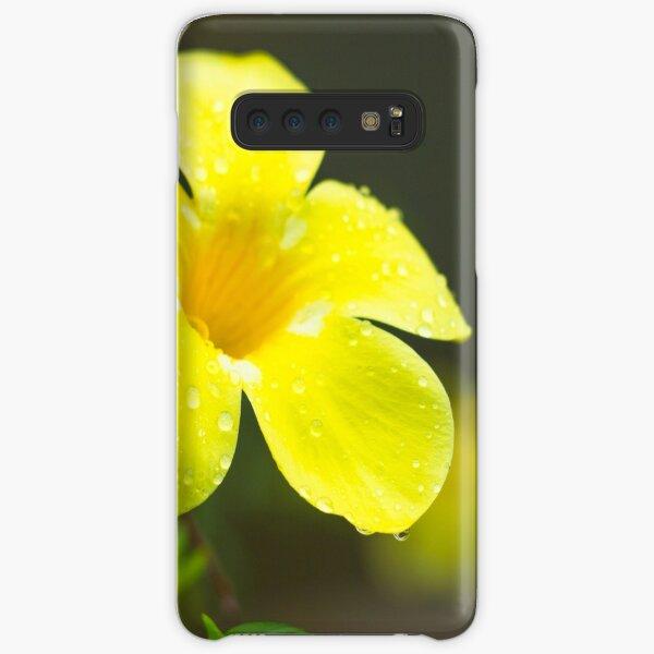 Yellow flower Samsung Galaxy Snap Case