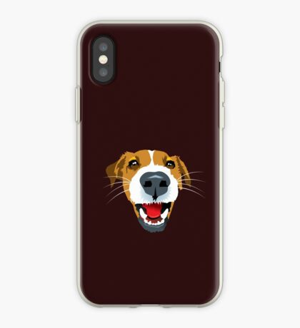Harry the Fox Terrier iPhone Case