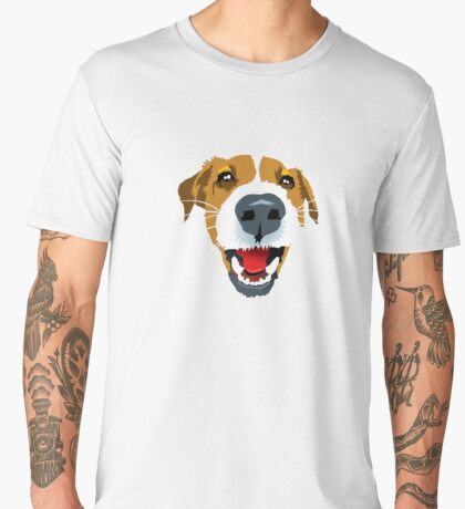 Harry the Fox Terrier Men's Premium T-Shirt