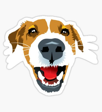 Harry the Fox Terrier Sticker