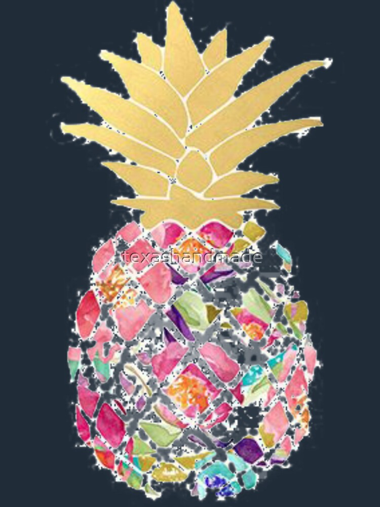 Colorful pastel pineapple by texashandmade