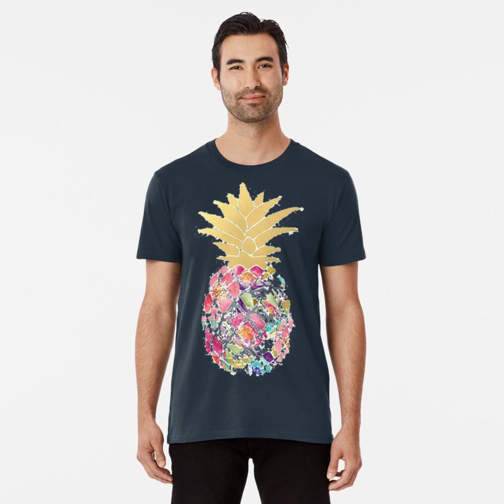 Colorful pastel pineapple Premium T-Shirt