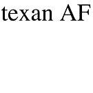 Texan AF by texashandmade