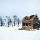 Winter Farmhouse by Brian R. Ewing