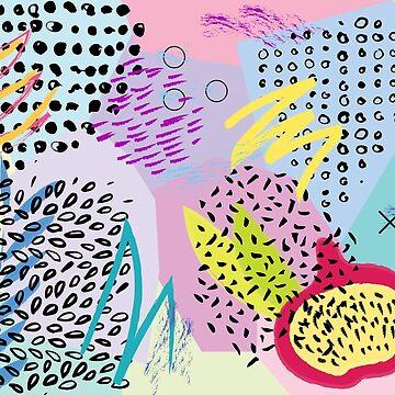 Abstract composition #6 by sobakapavlova