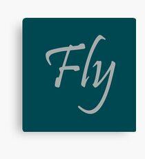 Fly Eagles Canvas Print