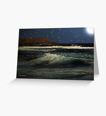 Restless Sea Greeting Card