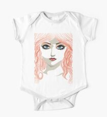 Girl with red hair 5 One Piece - Short Sleeve