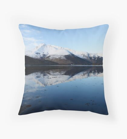 Invercoe Reflections 3 Throw Pillow