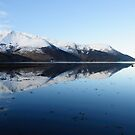 Invercoe Reflections 3 by Mark Greenwood
