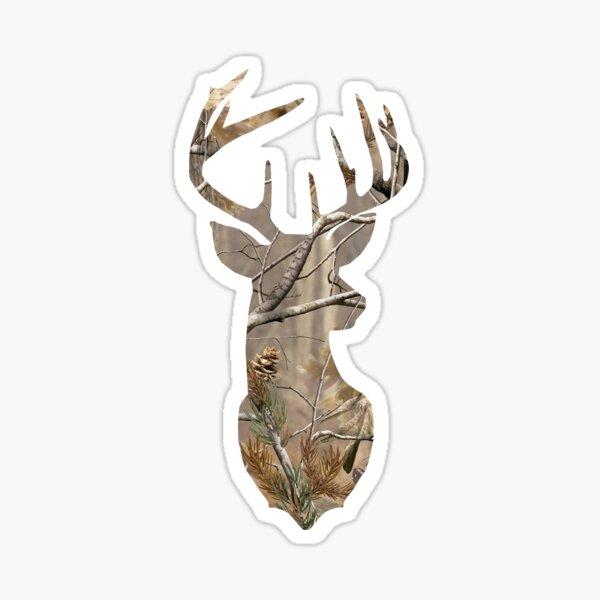 Camo Deer Sticker
