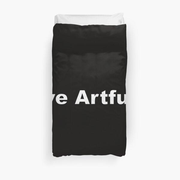 Live Artfully Duvet Cover